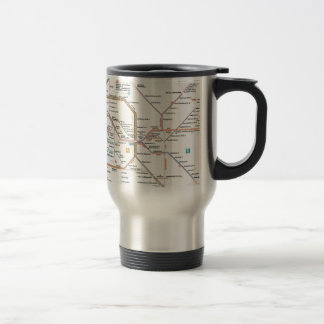 Underground Berlin Travel Mug
