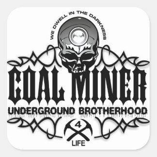 UNDERGROUND BROTHERHOOD SQUARE STICKERS