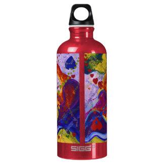 Underground – Crimson & Iris Hearts Aluminum Water Bottle