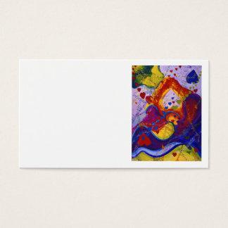 Underground – Crimson & Iris Hearts Business Card