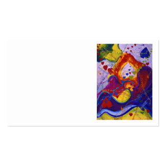 Underground – Crimson & Iris Hearts Business Card Template