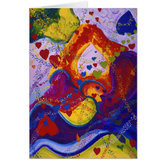 Underground - Crimson & Iris Hearts Card