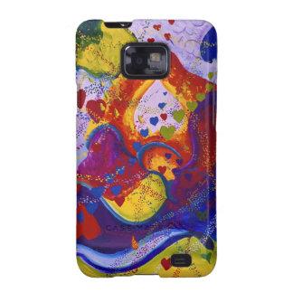 Underground – Crimson & Iris Hearts Samsung Galaxy S2 Case