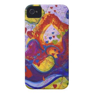 Underground – Crimson & Iris Hearts iPhone 4 Case-Mate Cases