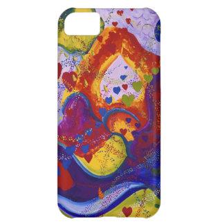 Underground – Crimson & Iris Hearts iPhone 5C Case