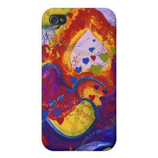 Underground – Crimson & Iris Hearts Cover For iPhone 4