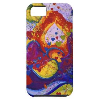 Underground – Crimson & Iris Hearts iPhone SE/5/5s Case