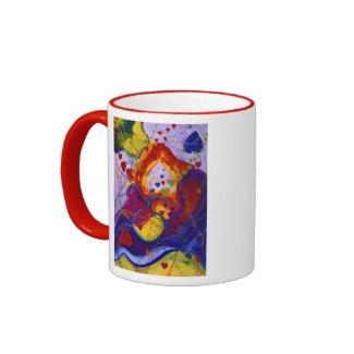 Underground – Crimson & Iris Hearts mug