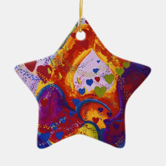 Underground – Crimson & Iris Hearts Ornament