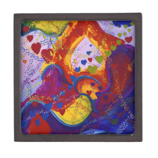 Underground – Crimson & Iris Hearts Premium Trinket Box