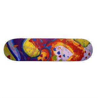 Underground – Crimson & Iris Hearts Skateboard Deck