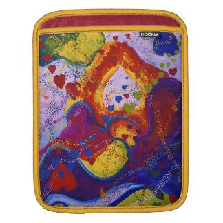 Underground – Crimson & Iris Hearts Sleeve For iPads