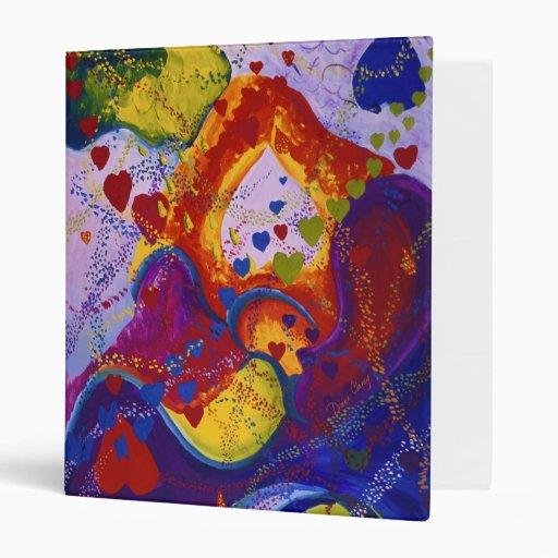 Underground – Crimson & Iris Hearts Vinyl Binders
