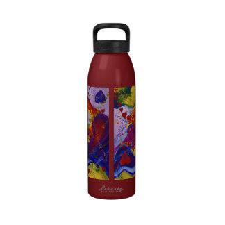 Underground – Crimson & Iris Hearts Reusable Water Bottles