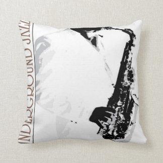 Underground Jazz American MoJo Pillow