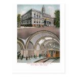 Underground Loop Station at City Hall, New York Postcard