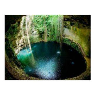Underground Natural Cenote Postcard