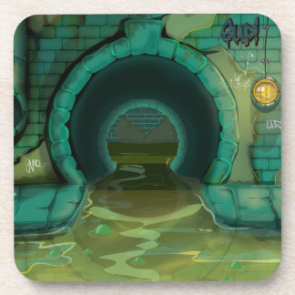 Underground Sewers Tunnel Cartoon Coaster