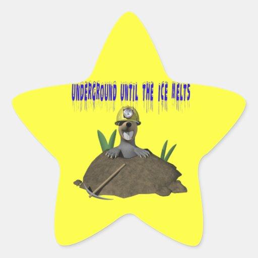 Underground Star Sticker