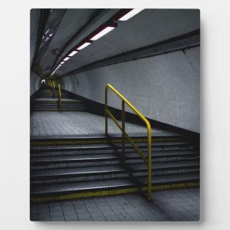Underground Subway at Bank Plaque