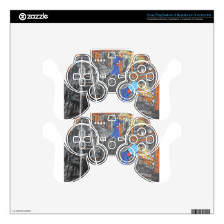 Underground Timber Men Decal For PS3 Controller