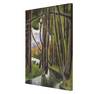Undergrowth, 1910 canvas print