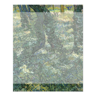 Undergrowth by Vincent Van Gogh Flyer