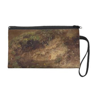 Undergrowth, c.1821 (oil on paper on board) wristlet purses