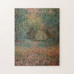 Undergrowth Forest of Saint-Germain Monet Fine Art Jigsaw Puzzle