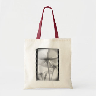 Underneath Flowers - Infrared B&W Tote Bag