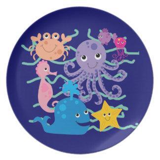 Undersea Adventure Dinner Plates