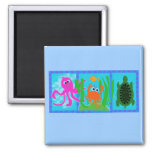 Undersea Adventure T-shirts and Gifts Fridge Magnets