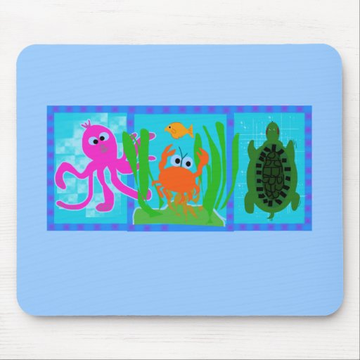 Undersea Adventure T-shirts and Gifts Mouse Pad
