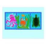 Undersea Adventure T-shirts and Gifts Postcard