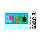 Undersea Adventure T-shirts and Gifts Stamps