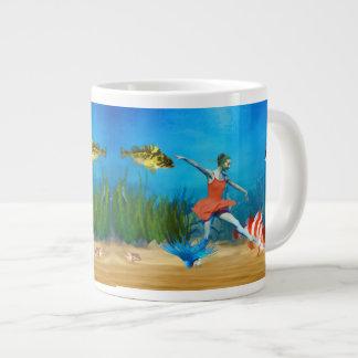 Undersea Ballet Large Coffee Mug