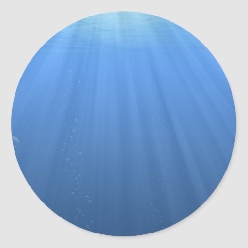 Undersea Classic Round Sticker