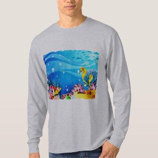 Undersea Coral, Fish & Seahorses T-Shirt