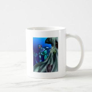 Undersea creature classic white coffee mug
