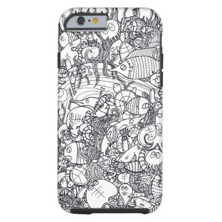 Undersea doodle tough iPhone 6 case