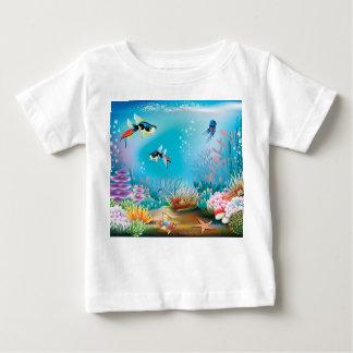 Undersea Life Baby T-Shirt