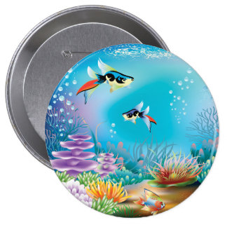 Undersea Life Button