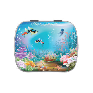 Undersea Life Jelly Belly Tins