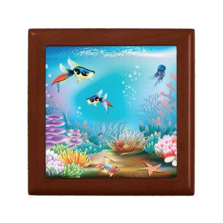 Undersea Life Keepsake Box