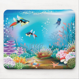 Undersea Life Mouse Pad