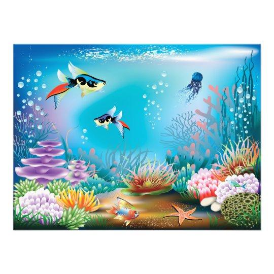 Undersea Life Photo Print