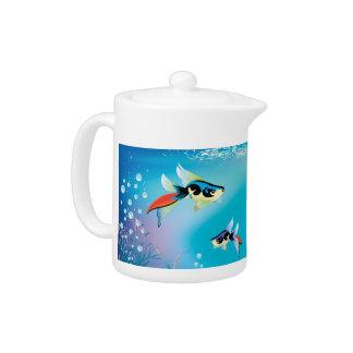 Undersea Life Teapot