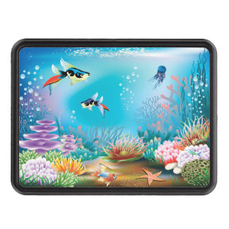 Undersea Life Trailer Hitch Covers