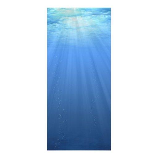 Undersea Rack Card
