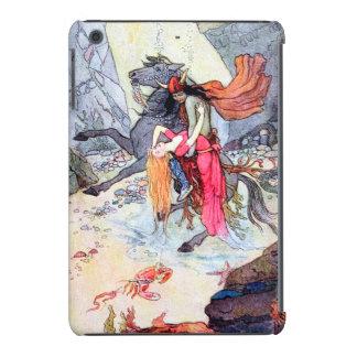 Undersea Rescue Vintage Fantasy Art iPad Mini Cover